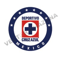 Cruz Azul Mexico Logo Vector