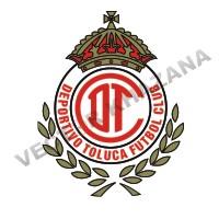 Deportivo Toluca F.C Logo Vector