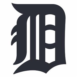 Detroit Tigers Primary Logo Cut