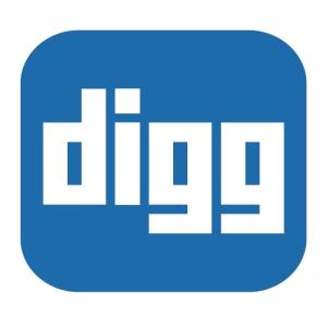 Digg logo vector