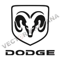 Dodge Car Logo Vector