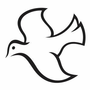 Dove Flying Bird svg