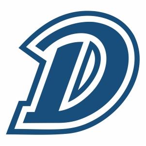 drake bulldogs d logo vector
