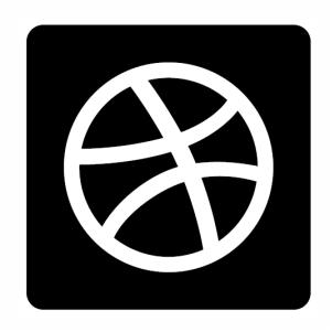 dribbble logo svg
