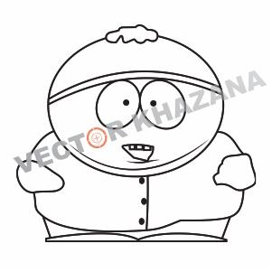 Eric Cartman Logo Vector