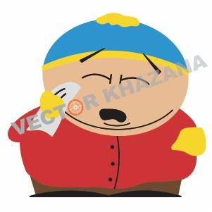Eric Cartman Angr Logo Vector