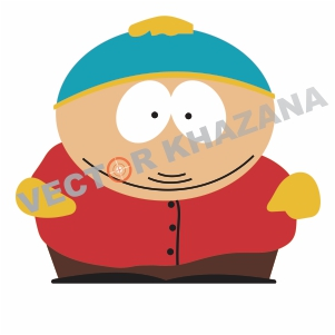 Simple Eric Cartman Logo Vector