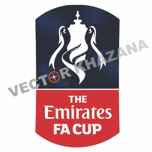 The Emirates Fa Cup Logo Vector