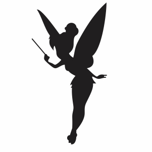 Little Fairy With Wand Vector