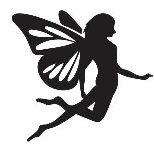tinkerbell fairy svg cut