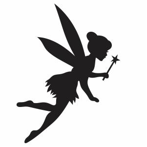 Tinkerbell Flying Vector