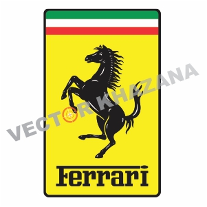 Ferrari Car Logo Vector