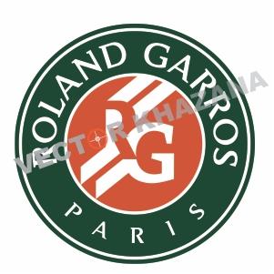 Roland Garros Logo Vector