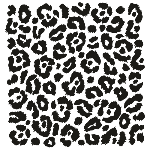 Leopard Pattern Svg