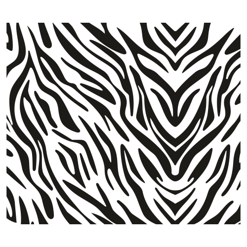 Zebra Animal Pattern Svg