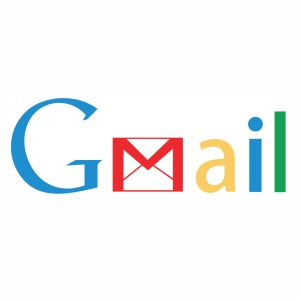 Gmail word logo svg