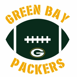 Green Bay Packers Ball Logo Vector Green Bay Packers Logo Vector Image Svg Psd Png Eps Ai Format Vector Graphic Arts Downloads