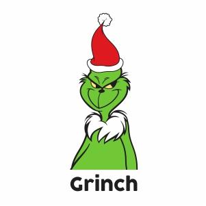 Christmas Grinch Svg