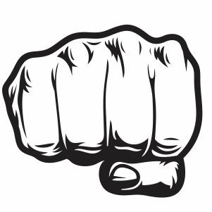 Hand Punch Svg Fist Hand Punch Svg Cut File Download Jpg Png Svg Cdr Ai Pdf Eps Dxf Format