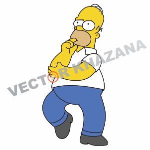 Homer Simpson Logo Vector