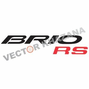 Honda Brio RS Vector Logo