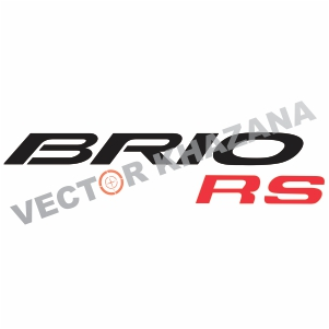 Honda Brio RS Logo Svg