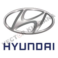 Hyundai Car Logo Vector