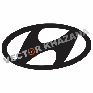 Hyundai Car Symbol Vector