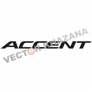 Hyundai Accent Logo Svg