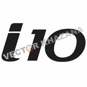 Hyundai i10 Logo Svg
