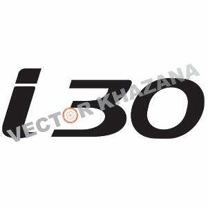 Hyundai I30 Logo Vector