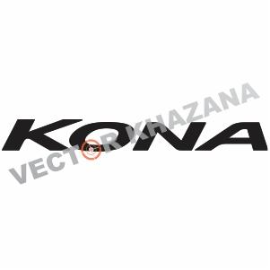 Hyundai Kona Logo Svg
