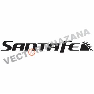 Vector Hyundai Santa Fe Logo