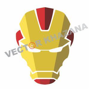 Iron Man Mask Vector