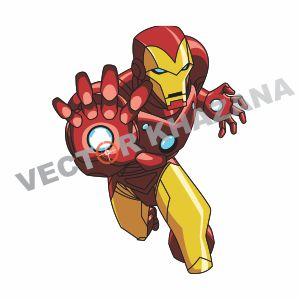 Iron Man Superhero Vector