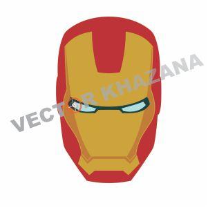 Iron Man Head Vector