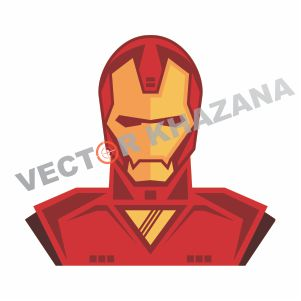 Iron Man Cartoon Vector