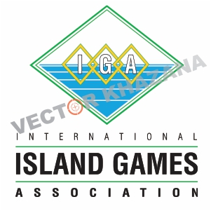 International Island Games Logo Vector