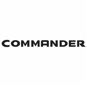 Jeep Commander Logo Svg