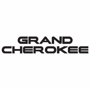 Jeep Grand Cherokee Logo Svg
