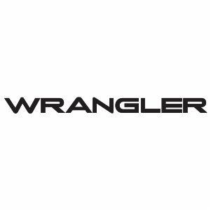 Jeep Wrangler Logo Svg