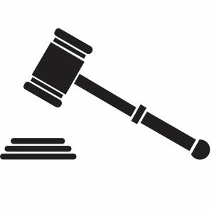 Justice hammer Svg