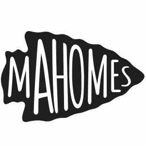 Kansas City Chiefs Mahomes Arrowhead Logo Svg