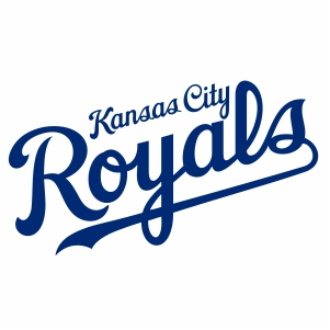 Kansas City Royal Wordmark Logo Vector