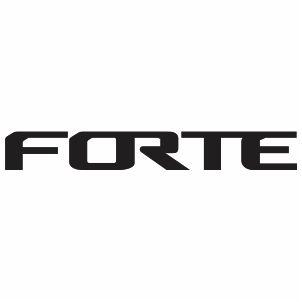 Kia Forte Logo Vector Download