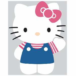 Beautiful Hello Kitty svg