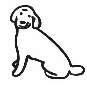 Labradoodle Dog Svg