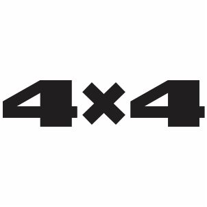 Lada 4x4 Logo Svg