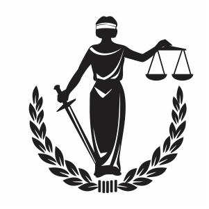 Lady justice svg
