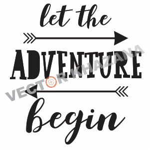 Free Let The Adventure Begin Svg
